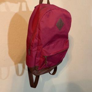 mossimo supply co burgundy bag